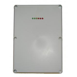 GSM сигнализация  АТ-350   (3 зоны, вход охрана/неохрана , 2 номера дозвона sms при  вторжении,встроенный источник бесперебойного питания под аккумулятор 12В 1.3Ач , выход на сирену)
