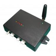 GSM сигнализация АТ-400 (3 зоны, 3 номера дозвона,ключевая и/или дистанционная (DTMF) постановка в режим охрана/неохрана,4 выхода управляемых с мобильного телефона,выносная антенна 3 м)